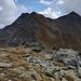 La facile cresta salita ed il Mont Fallere