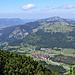Oberjoch vor Jochschrofen und Hirschberg
