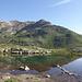 In der Nahe von La Stretta findet man schon die erste Bergseen.