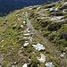 Die Wasserversorgung der Alp Surcruns - auch hier gibt es Suonen