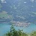 Tiefblick von der Alp Säls nach Murg