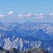 Wer kann den Gipfel der leicht im Schatten liegt in der Bildmitte identifizieren? Das Bild wurde auf dem Sulzkogel mit Blick Richtung Nordosten aufgenommen.