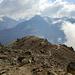 Blick vom Urkundkolm auf den Aufstiegsweg