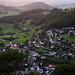 Das kleine Dorf Wisen (682m) welches dem Berg seinen Namen gab.