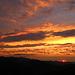 Die Wolken zeigten sich wie gemalt während des Sonnenuntergangs, eifach schön!
