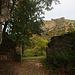 Eingang zur riesigen Burganlage Froburg (830m).
