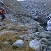 Daniel im Abstieg entlang vom Bergbach Torrent de Perche.