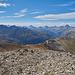 Munt Cotschen (3.104 m) - Oberengadin mit Piz Güglia und Piz Kesch