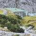 Dammkarhütte, lawinensicher errichtet