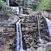 Kuhfluchtwasserfälle, die untersten Stufen halt.