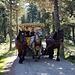 Markenzeichen im Val Roseg: Coronagerecht geführte Pferdekutsche