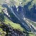 Gletscherfälle ins Laggintal