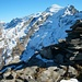 Schafberg (2522m): Gipfelpanorama mit Schlossberg-Hinter Schloss (3132,5m), Gross Spannort (3198m), Titlis (3238,3m) und Klein Titlis (3062m).