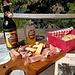 Vesper im Bergrestaurant Cavloccio. :-)