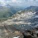 Gletschervorfeld mit vielfarbigen Seelein - er war mal grösser, der Radönt-Gletscher!