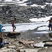 Oben beim Lägh da la Caldera angekommen hatte der doch eine sehr tiefere Wassertemperatur von 4°C