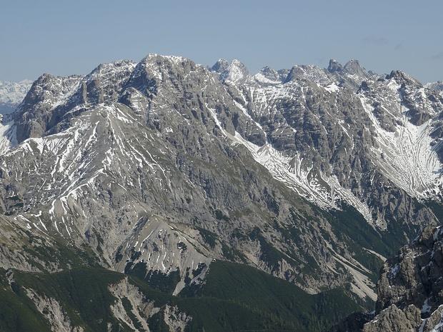 Auf den beiden höchsten Gipfeln der Lienzer Dolomiten, den Sandspitzen, war ich 1996.