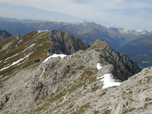 Bald werde ich auf den Steig zur Tamerlanhöhe stoßen.