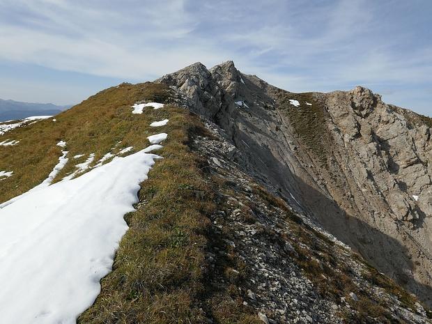 Nur noch ein paar Meter zum Gipfel.