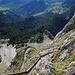 Der befestigte Gipfelweg