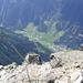 Tiefblick nach Feichten, 1600 Meter tiefer