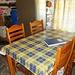 Interno essenziale ma pulito e ben tenuto.<br />4 materassi, tavolo x 4, cucinino a gas (bombola piena), camino e legna