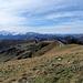 Blick in Richtung Waadtländer Alpen