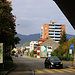 Zuletzt spazierte ich der Hauptstrasse der Aare entlang zum Bahnhof Olten.