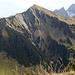 Das Zafernhorn. Hinten links Hoher Ifen