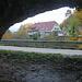 Blick aus der Liesberhöhle (383m).