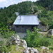 Private Hütte auf dem Gipfel, heute wurde gegrillt