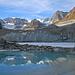 Gletschersee bei der Gletscherzunge des Zmuttgletschers