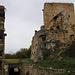 Château du Landskron: <br /><br />Ansicht der Burganlage mit dem Wohnturm aus Südosten. Übrigens war ausser einem Schweizer Vater mit zwei Kindern niemand ausser mir hier. Die Franzosen scheinen während der Ausgangssperre zu Hause zu bleiben.