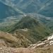 Das Ciom di Morisciolo. Unten im Tal liegt Bellinzona.
