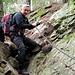 Sentiero Alpe Peu - Bens (percorso Claro-Pizzo-2500+) Molto ripido e con un tratto semplice con catena