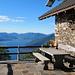 Aussicht von der Alp Rescerasca - auch ein schöner Balkon