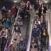Basel - Bahnhof SBB: Willkommen in der Zeit der Abnormalität. Wieviele Leute würden in Unterhosen zur Arbeit fahren wenn der Bundesrat befieht?