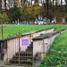 Hagenthal-le-Bas (356m): Vorsicht vor umfallenden Grabsteinen auf dem jüdischen Friedhof !