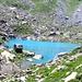 Il color turchino del Lago Chiaretto