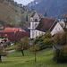 Dittingen (410m), ein kleines ursprünglich gebliebenes Dorf im Laufental.
