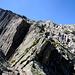 Auf der Bergseelücke wird der Blick frei zum weiteren Aufstieg über den Ostgrat auf den Bergseeschijen