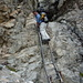 [u VR101] an der Leiter im Abstieg