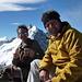 Christoph und [u VR101] auf dem Gipfel... bei Kaffee und Gipfeli