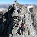 Ausgesetzte Stelle zur Gipfelmadonna
