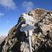hier mündet die Aufstiegsroute von der Oberpartnomalpe ein