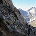 weiss-blau-weiss. Interessante Alpinroute