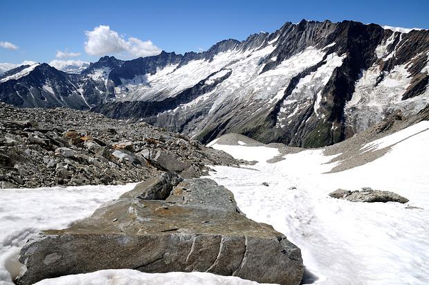 Brunnenfirn mit Winterbergkette