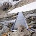 luxuriöse Bachüberquerungshilfe oberhalb der Chelenalphütte