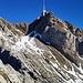 Rückblick vom Grauchopf zum Säntis..<br />(c) AlpenSim