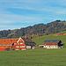 typische Appenzeller Bauernhäuser bei Gonten